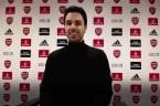 Arteta pleased with Aubameyang as Arsenal move to top half of table