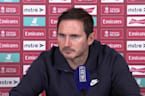 Frank Lampard gives spiky responses to questions on Chelsea's struggles