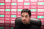 Mikel Arteta left disappointed as Arsenal's FA Cup defence ends at Southampton