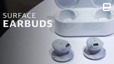 Microsoft Surface Earbuds hands-on: Strange shape, feel great