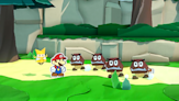 Paper Mario: The Origami King, 10 minutes of gameplay