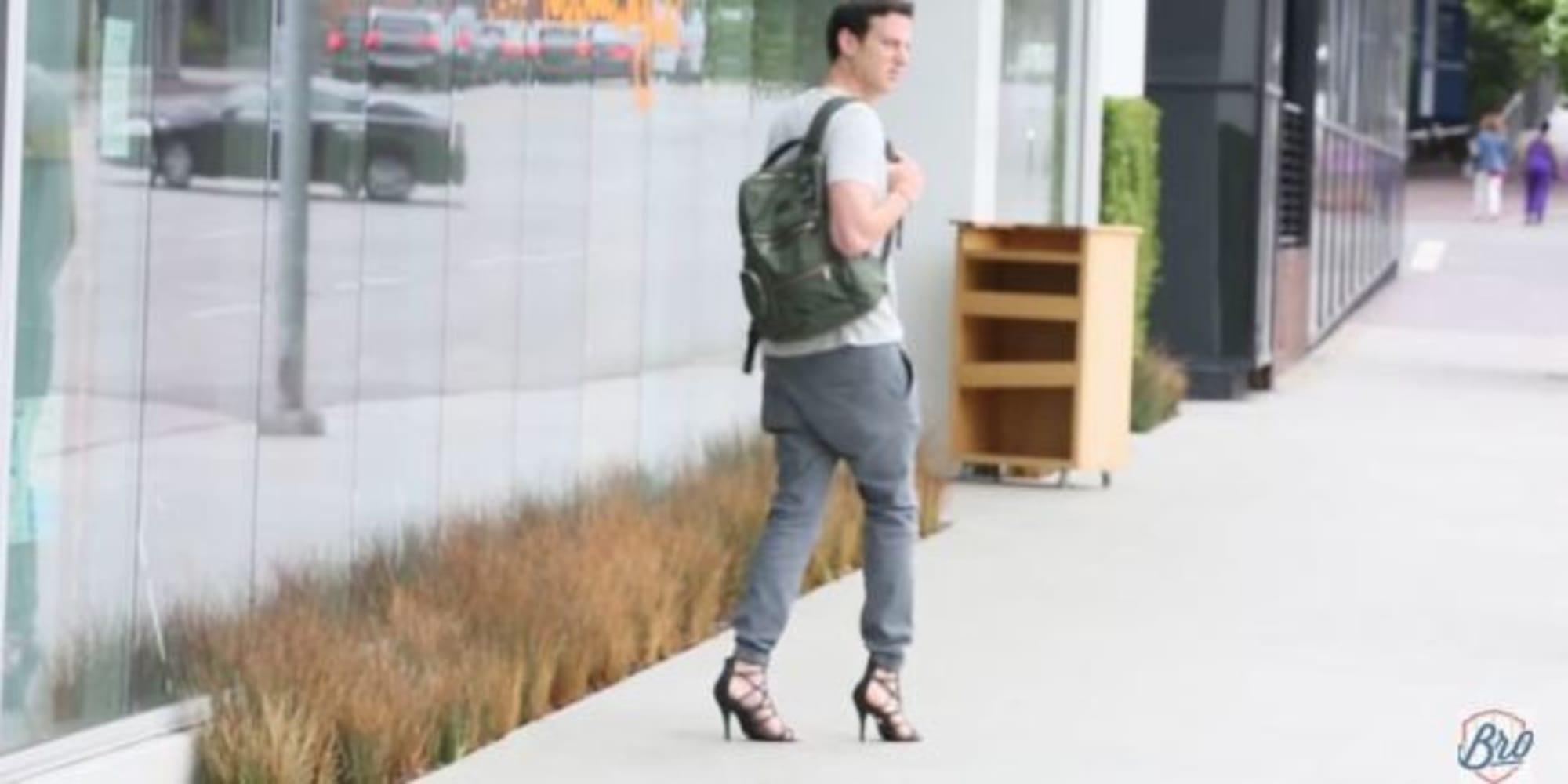 Chaussure Avec Talon Haut Pour Homme 6
