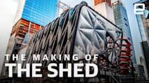 How The Shed was made: The kinetic architecture of New York's newest cultural institution