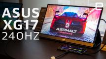 ASUS ROG Strix XG17 240Hz portable gaming monitor hands-on at Computex 2019