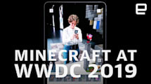 Minecraft Earth demo from WWDC 2019