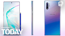Galaxy Note 10 surfaces in leaked photo | Engadget Today