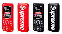 Supreme slaps its logo on a low-end burner phone