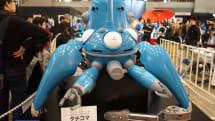 ニコニコ超会議:攻殻機動隊 タチコマ 1/2スケールモデルの展示!開発者にプロジェクトの進捗を聞いた