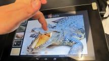 動画:富士通が超音波でタッチパネルの触感を変えるタブレット開発、製品化は2015年(更新)
