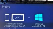マイクロソフト、小型タブレットとスマートフォン用Windowsを無料化。IoT用もフリー