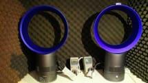 ダイソンの羽根なしファンに最大75%静音の新モデルDyson Cool AM06 / AM07、ヘルムホルツ空洞でノイズ低減