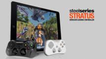 SteelSeriesのiOS 7無線ゲームコントローラ Stratus、アップルストアで先行国内販売を開始