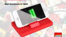 LEGOブロック製のモバイルバッテリー発売、縦置き/横置き自由に組み立て