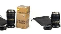 ニコンの交換用レンズ風タンブラー『ニッコールタンブラー』が復活、2モデルで12月19日発売