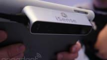 3D Systems、iPad 用3Dスキャナ iSense 発表。499ドルで2014年第2四半期発売予定