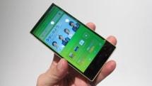 auから AQUOS PHONE SERIE mini SHL24 2月下旬発売、4.5型フルHD IGZO 搭載。幅63mmコンパクトEDGEST設計