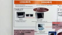 富士通タブレット20年の完成形 LIFEBOOK TH90 技術解説。始祖はPoqet PC (1990)