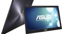 ASUS からUSBバスパワー駆動の15.6型モバイルディスプレイMB168B シリーズ、フルHD とWXGA の2モデル