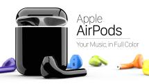 「耳からうどん」とは言わせない!AirPodsをカラフル化する塗装サービス、米国で開始