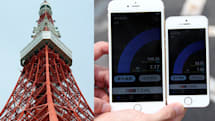 iPhone 6 / 6 Plus発売日、KDDIのCA(キャリアアグリゲーション)電波調査に同行