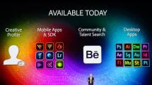 Adobe MAX基調講演:iPhoneアプリとの連携強化、ブラシなどの共有、SDK提供、Surface Pro 3対応