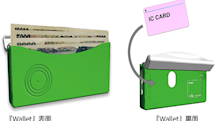 ICカードのチャージ残高を読み上げる札入れ型紙幣識別機『Wallet』。視覚障害者向けに音声と振動で紙幣の金額を通知