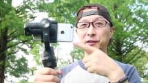 動画:スマホ対応電動スタビ「DJI OSMO Mobile」はこう撮れる! 被写体追従やタイムラプスなど機能強化アプリの実力チェック