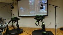 ゲームの世界を歩けるVRデバイス「Virtuix Omni」が7月3日発売、約106万円。7月10日より都内で体験可