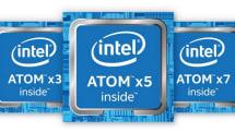 Atom xシリーズ正式発表。低価格スマホ用SoC x3と現行モデル強化版 x5 / x7、2015年前半から製品登場