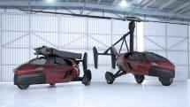 【ビデオ】飛行モードから走行モードへ10分以内に変形!空飛ぶクルマの市販モデルが間もなく一般公開