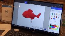 5分でわかるWin 10 Creators Updateの目玉「ペイント3D」の使い方動画。無料ツールでカクレクマノミを描く
