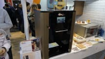 XYZ プリンティングの3Dフードプリンタ製クッキーを試食。2000ドル以下で2015年Q2発売予定