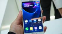 Galaxy S7 / edge実機を見る。S6以上の速度に驚き、マイクロSDスロットと防水の復活と常時ON画面は好印象