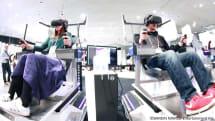 【動画】さぁ、取り乱せ!VRエンタメ研究施設 VR ZONE Project i Can 潜入。震える青木歌音、高所で猫救出