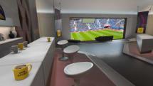 PS VR向け「ワールドカップ観戦用VIPルーム」は豪華絢爛...ただし冷房は強めに