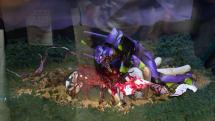 ワンフェス2015夏:エヴァンゲリオン20周年で名場面のジオラマ展示。新作版権物多数