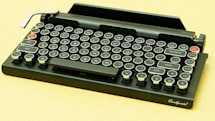 タイプライター風Bluetoothキーボード『QWERKYWRITER』、PC専門店で5万9800円で発売