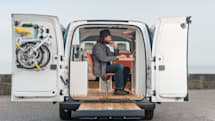 「走る未来の仕事バン」 日産e-NV200 WORKSPACe 発表。これで世界中どこでも働ける