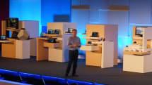 COMPUTEX:マイクロソフト基調講演。7月29日発売のWindows 10を強くアピール、生体認証デモなど実施