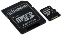 高耐久が売りの256GB microSDXCがKingstonから登場、IPX7防水に耐衝撃・耐振動、X線耐性も