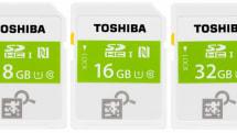 東芝から世界初のNFC搭載SDカード、スマホをかざして中身と空き容量確認