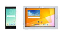 富士通、SIMフリースマホとタブレット arrows M02 / Tab M01T 発表。防水防塵でタフなMVNO向けモデル