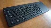 マイクロソフト All-in-One Media Keyboard レビュー。Android でも使える防滴無線キーボード