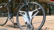 1分で自転車をアシスト付きにする交換ホイール『GeoOrbital Wheel』発表。最高32km/h、航続距離80km