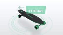 充電1回で約30km走る電動スケボー「E-GO2」発売。スマホで操縦可能、8万8380円