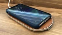 iPhone XもGalaxy Note8も高速チャージできるQi対応充電パッドしかも革張り