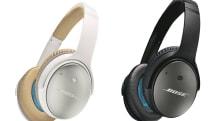「BOSE史上最高のノイズキャンセリングヘッドホン」QuietComfort 25発表。低音域の消音性能を強化