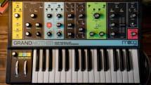 Moog、初心者も音作り可能なセミアナログシンセGrandmother発表。パッチングで上級者にも対応