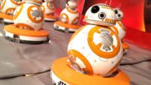 【動画】スター・ウォーズ、 BB-8 Powered by Sphero 国内発売、2万1384円。ホログラフィックARで再現