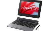 富士通ARROWS Tab QH55/S発表。10.1型WUXGA液晶、Wacomスタイラス付属のWindowsタブレット